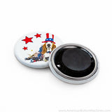 "1.25"" Self-Adhesive Magnet Set - American Button Machines"