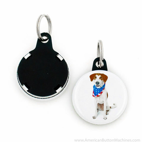 "1.25"" Versa-Back Mini Split Keyring Set"