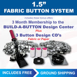 1.5 inch fabric covered button maker kit