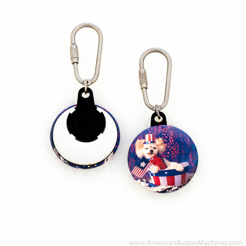 "1.5"" Versa-Back C-Hook Keyring Set"