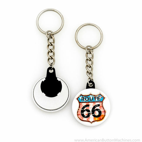 "1.5"" Versa-Back Chain Keychain Set - American Button Machines"