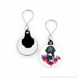 "1.5"" Versa-Back Loop Keyring Set - American Button Machines"