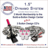 "1.5"" Button Maker Kit - American Button Machines"