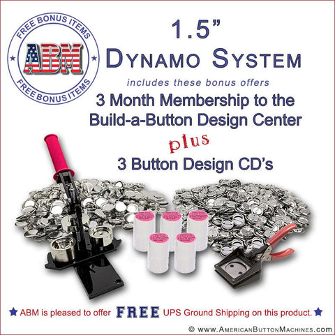 "1.50"" Dynamo Button Kit"