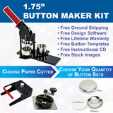 one and three quarter button maker kit