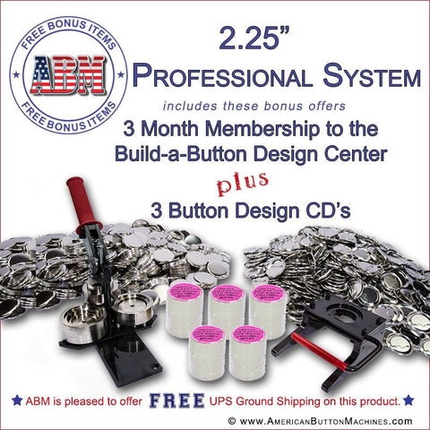 "2.25"" Professional Button Kit"
