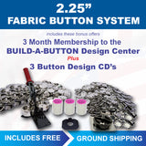 "2.25"" fabric covered button maker kit"