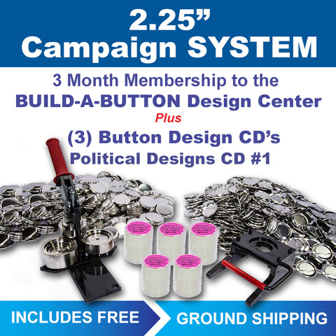 "2.25"" campaign button maker kit"
