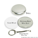 "1.75"" Snake Key Ring Sets"