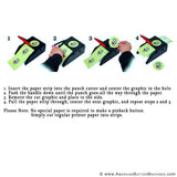 "3"" Photo Button Maker Kit - American Button Machines"