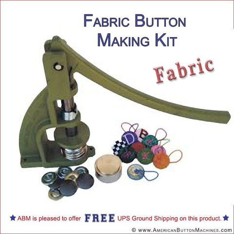 "3/4"" Fabric Button Making Kit"
