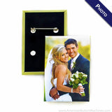 "Rectangle 2""x3"" PHOTO Button Maker"