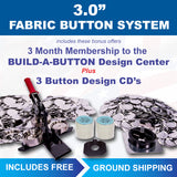 3 inch fabric covered button maker kit