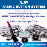 3.5 inch fabric covered button maker kit