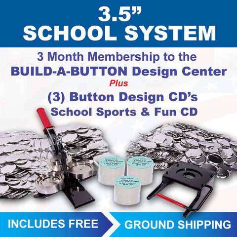 "3.5"" photo button maker for schools"
