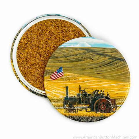 "3.5"" Coaster Button Set - American Button Machines"