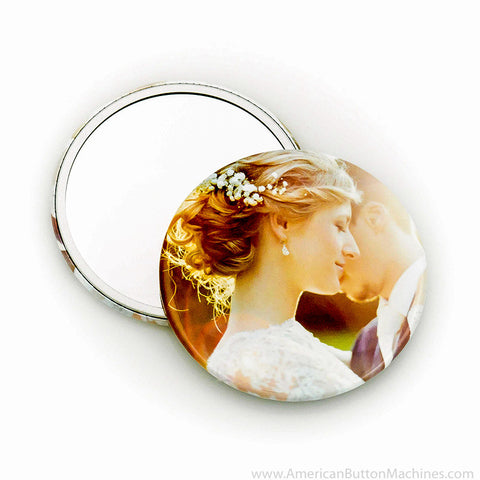 "3.5"" Mirror Back Buttons"