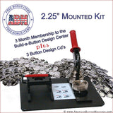 "2.25"" Mounted Button Making Kit"