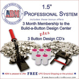 "1.5"" Professional Button Kit"