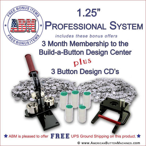 "1.25"" Professional Button Kit"
