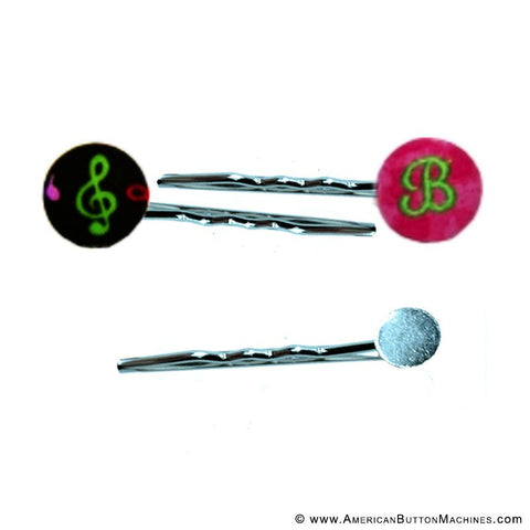 Bobby Pin Buttons