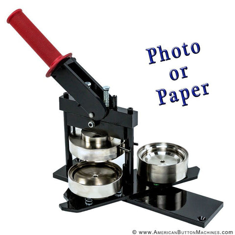 "3.5"" photo button maker"