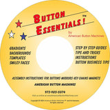 "3.5"" Professional Campaign Button Maker Kit - American Button Machines"