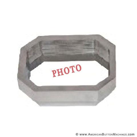 "2""x3"" Rectangle Photo Cutting Die - American Button Machines"