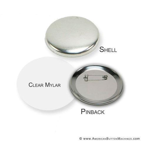 "3"" Pinback Button Set - American Button Machines"