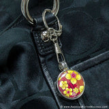 "1.5"" Versa-Back Snap Hook Keychain Set"