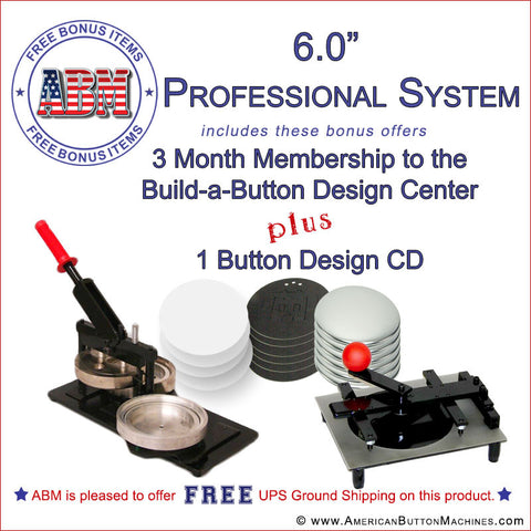 "6"" Professional Button Kit"