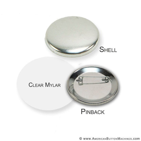 "2.25"" Pinback Button Set - American Button Machines"