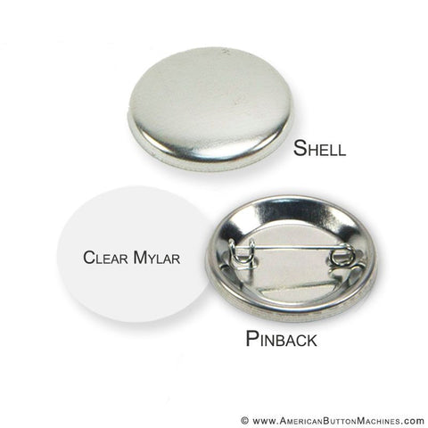 "1.5"" Pinback Button Set - American Button Machines"