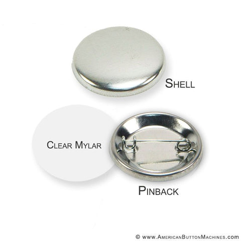 "1.25"" Pinback Button Set - American Button Machines"