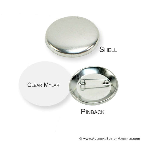 "1.75"" Pinback Button Set - American Button Machines"