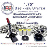 "1.75"" Button Maker Kit - American Button Machines"