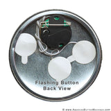 "3.5"" Flashing Button Kit - LED Trio"