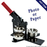 "3"" Paper and Photo Button Maker"