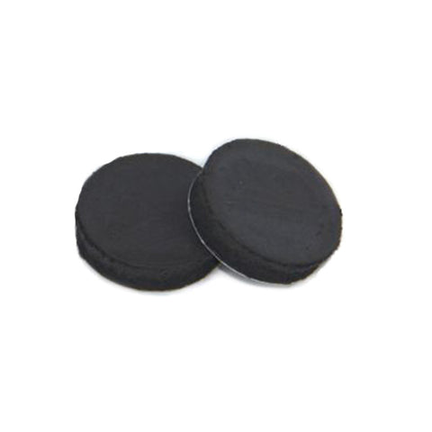 "1"" Round Adhesive Backed Magnet for 1.25"" Collet Back - 1.5"" & 1.75"" Un-Pinned Magnets - American Button Machines"