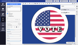 Campaign Button Build-a-Button Design Center - Version 6.0 - American Button Machines