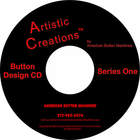 Artistic Creations Series 1 - American Button Machines