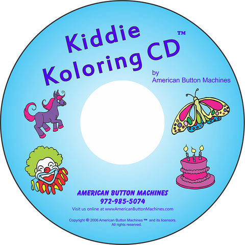 Kiddie Koloring - American Button Machines