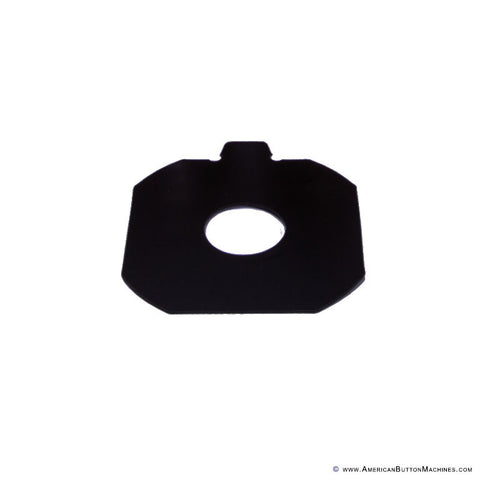 Plastic Centering Template for Circle Cutter - American Button Machines