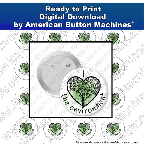 Digital Download, Digital Download for Buttons, environment, trees