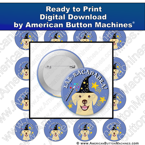 Digital Download, for buttons, digital download for buttons, lab, magic