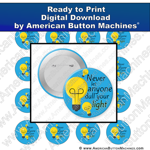 Digital Download, For Buttons, Digital Download for Buttons, Light, shine, bright