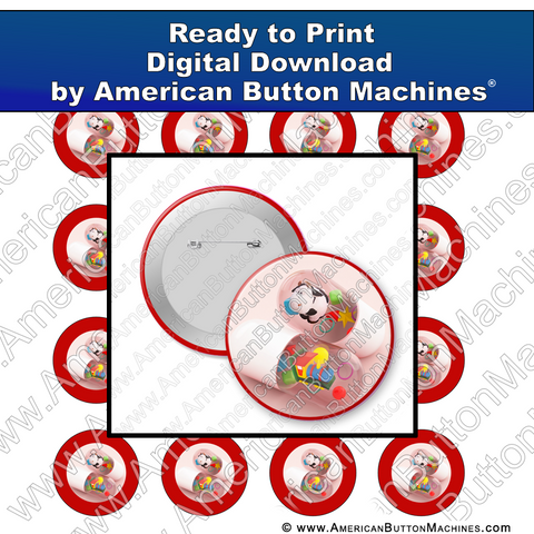 Toys Are the Best Medicine - Digital Download for Buttons