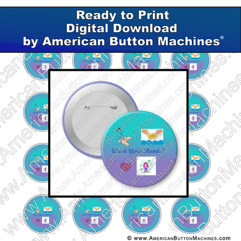 Wash Your Hands 2 - Digital Download for Buttons
