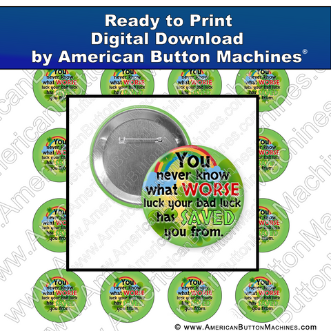 Digital Download, for buttons, digital download for buttons, st patrick, st. pat's, saint patrick, clover, green, luck