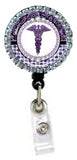 Rhinestone Badge Reel